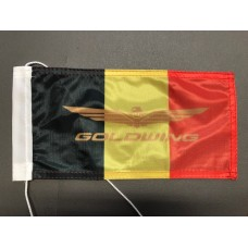 Belgian flag Goldwing